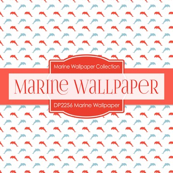 Digital Papers - Marine Wallpaper (DP2256)