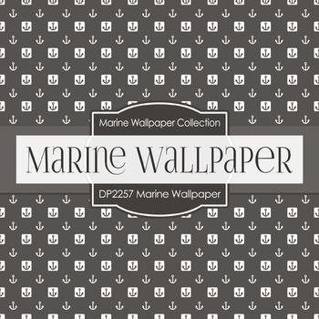 Digital Papers - Marine Wallpaper (DP2257)