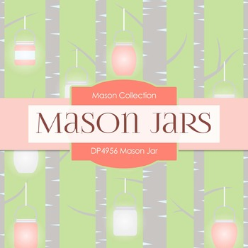 Digital Papers - Mason Jar (DP4956)