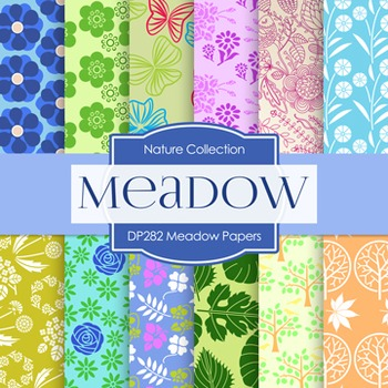 Digital Papers -  Meadow Papers (DP282)
