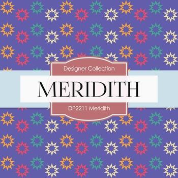 Digital Papers - Meredith (DP2211)