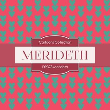 Digital Papers - Merideth (DP378)