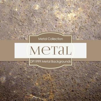 Digital Papers - Metal Backgrounds (DP1999)