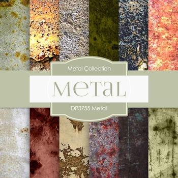 Digital Papers - Metal (DP3755)