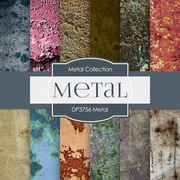 Digital Papers - Metal (DP3756)