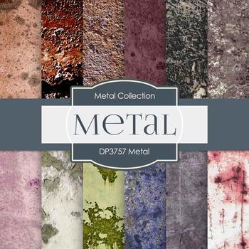Digital Papers - Metal (DP3757)