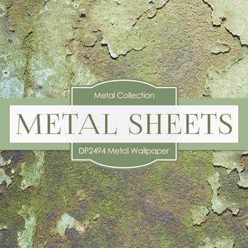 Digital Papers - Metal Wallpaper (DP2494)