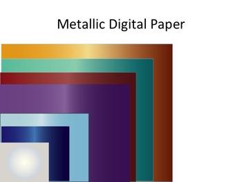 Digital Papers Metallic