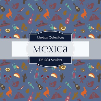 Digital Papers - Mexica (DP1330)