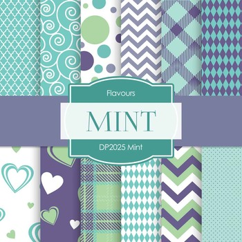 Digital Papers - Mint (DP2025)