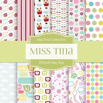 Digital Papers - Miss Tina (DP6169)