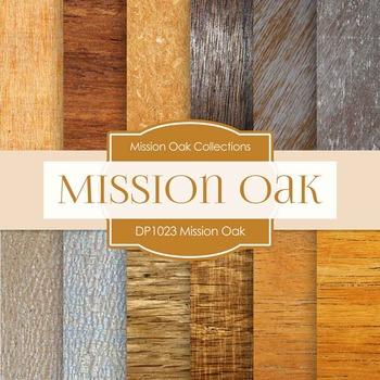 Digital Papers - Mission Oak (DP1023)