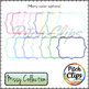 Missy Collection - 85 Frame Outlines - 5 Designs, 17 Colors