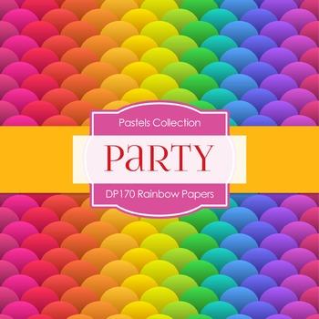 Digital Papers -  Rainbow Papers (DP170)