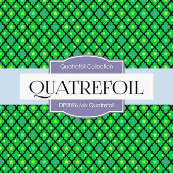 Digital Papers - Mix Quatrefoil (DP2096)
