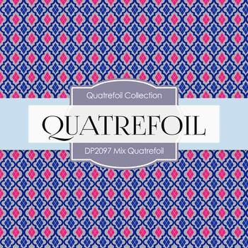 Digital Papers - Mix Quatrefoil (DP2097)