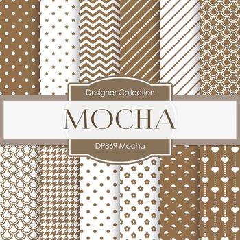 Digital Papers - Mocha (DP869)
