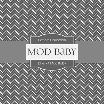 Digital Papers - Mod Baby (DP6174)