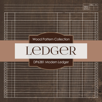Digital Papers - Modern Ledger (DP6381)