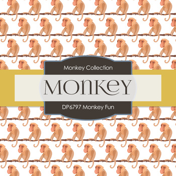 Digital Papers - Monkey Fun (DP6797)