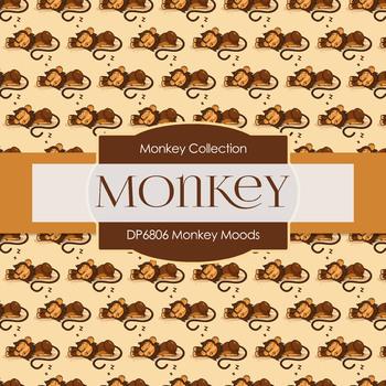 Digital Papers - Monkey Moods (DP6806)