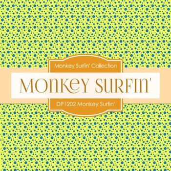 Digital Papers - Monkey Surfin (DP1202)