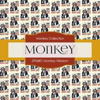 Digital Papers - Monkey Wisdom (DP6801)