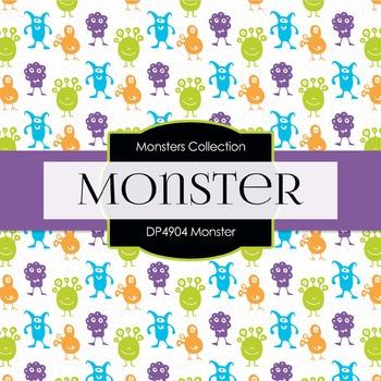 Digital Papers - Monster (DP4904)