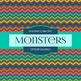 Digital Papers - Monsters (DP3244)