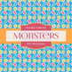 Digital Papers - Monsters (DP6194)