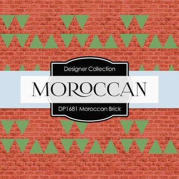 Digital Papers - Moroccan Brick (DP1681)
