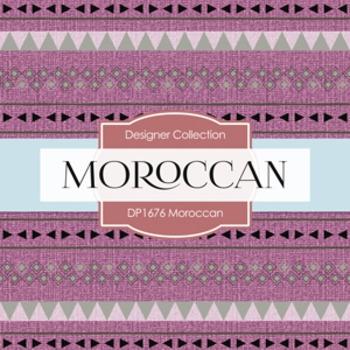 Digital Papers -  Moroccan (DP1676)