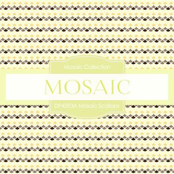 Digital Papers - Mosaic Scallops (DP4393A)