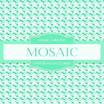 Digital Papers - Mosaic Scallops (DP4393B)
