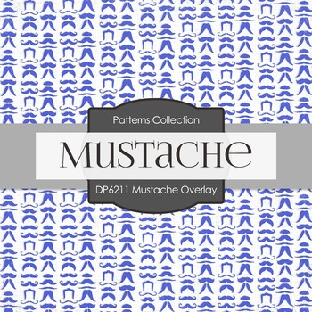 Digital Papers - Moustache Overlay (DP6211)