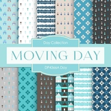 Digital Papers - Moving Day (DP4366A)