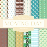 Digital Papers - Moving Day (DP4366B)