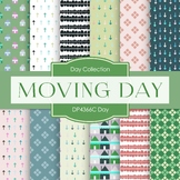 Digital Papers - Moving Day (DP4366C)