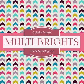 Digital Papers -  Multi Brights II (DP472)