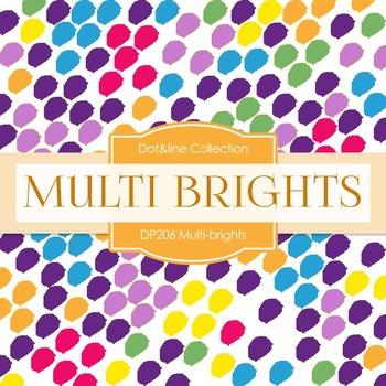 Digital Papers - Multi brights (DP206)