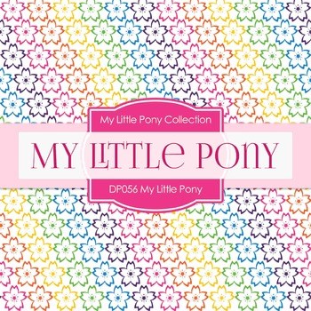 Digital Papers - My Little Pony (DP056)