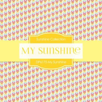 Digital Papers - My Sunshine (DP6175)