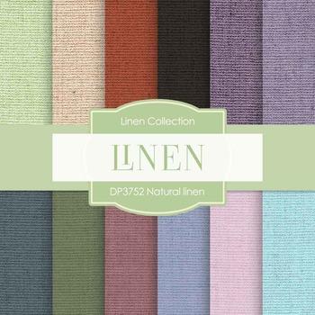 Digital Papers - Natural Linen (DP3752)