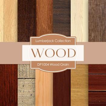 Digital Papers - Natural Wood (DP1004)