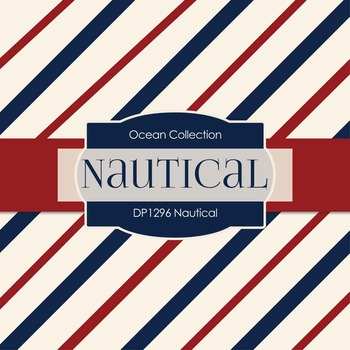 Digital Papers - Nautical (DP1296)