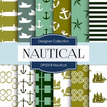 Digital Papers -  Nautical (DP2318)