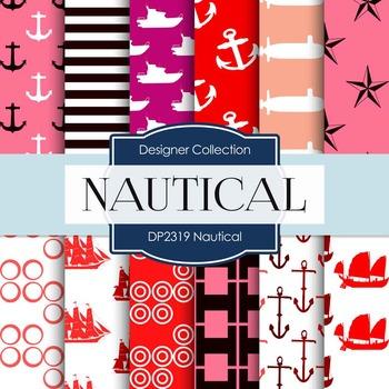 Digital Papers -  Nautical (DP2319)