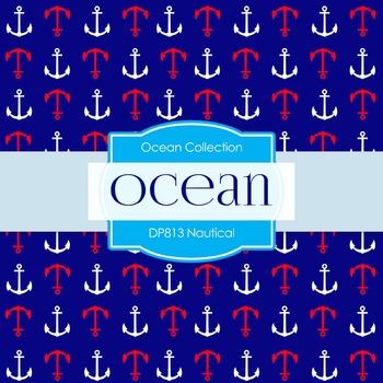 Digital Papers -  Nautical (DP813)
