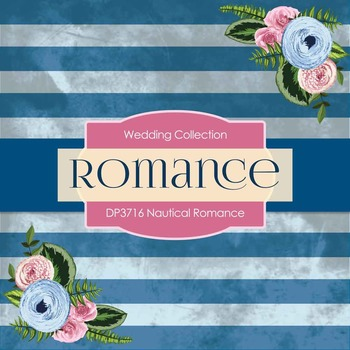 Digital Papers - Nautical Romance (DP3716)