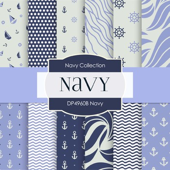 Digital Papers - Navy (DP4960B)